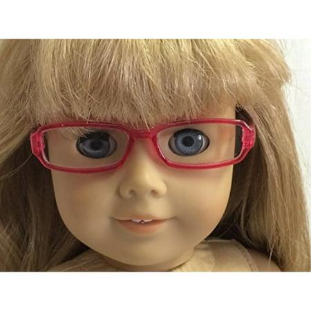 Pink Rimmed Eyeglasses fits 18 inch American Girl (American Eyeglasses Store)