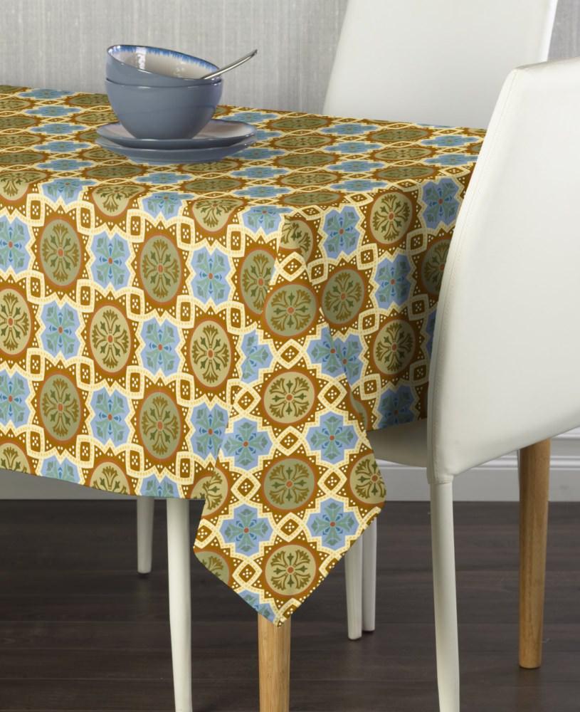 Medallion Mosaic Tablecloth 60 X120 Walmart Com Walmart Com