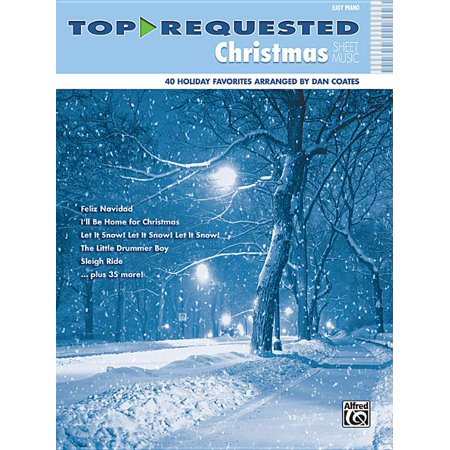 Top-Requested Christmas Sheet Music: Easy Piano (Paperback) ()