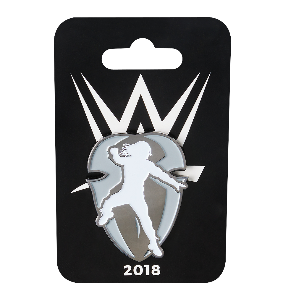 Official WWE Authentic Roman Reigns 2018 Logo Pin