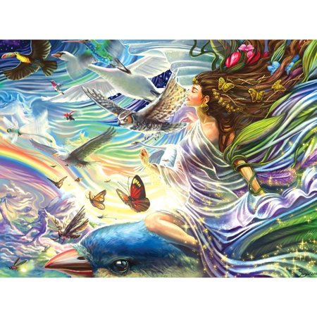 Sky Fairy Queen Foil 750 Piece Puzzle,  Puzzles by LPF Limited