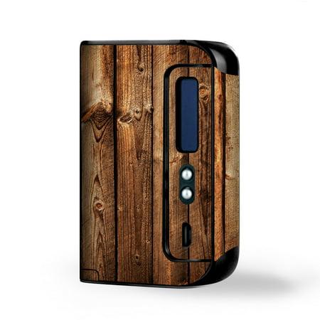 Skin Decal Vinyl Wrap for Smok Osub King 220W Vape Kit skins stickers cover / Wood Panels Cherry Oak