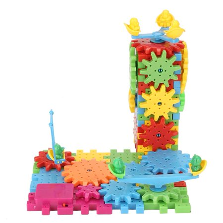 Qiilu 81Pcs/Set Educational Electric Puzzle Kids Children Plastic DIY Building Blocks Funny Toys, Kids Puzzle Toy, Educational Puzzle Toy - image 2 of 13