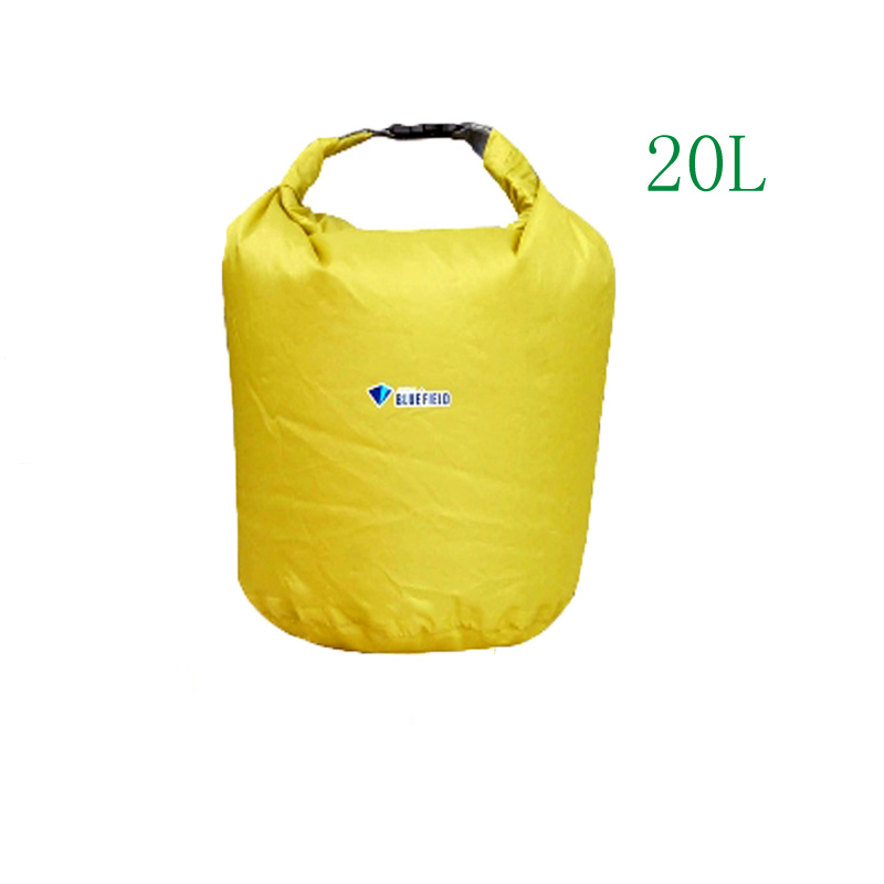 Click here to buy Bluefield Outdoor Waterproof Dry Bag for Canoe Kayak Rafting Camping.