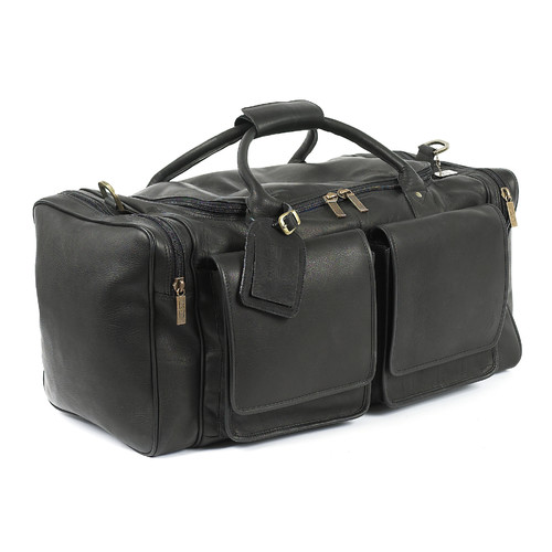 Claire Chase Hampton's 20'' Leather Travel Duffel