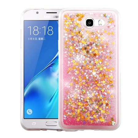 Samsung Galaxy J7 Sky Pro case by Insten Luxury Quicksand Glitter Liquid Floating Sparkle Bling Fashion Phone Case Cover for Samsung Galaxy J7 Sky Pro / J7