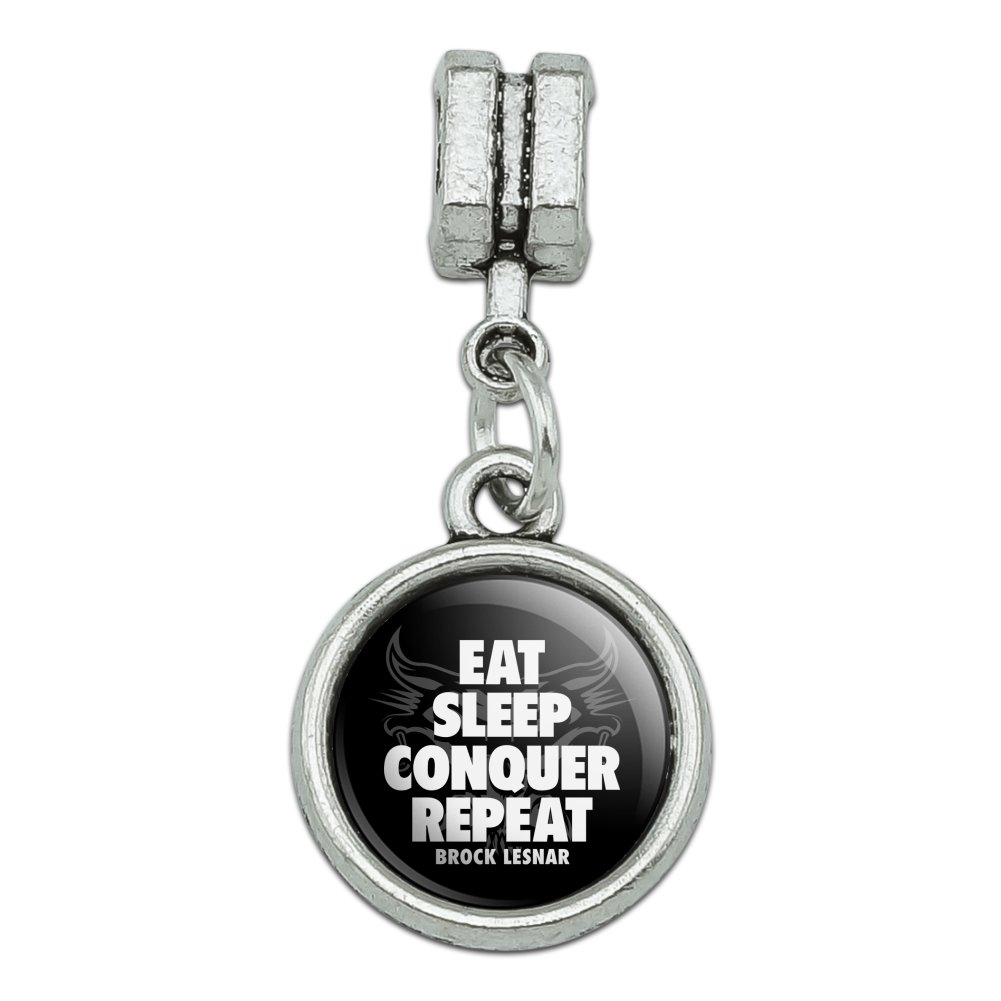 Sleep Graphics and More WWE Brock Lesnar Eat Repeat Novelty Metal Vanity Tag License Plate Conquer