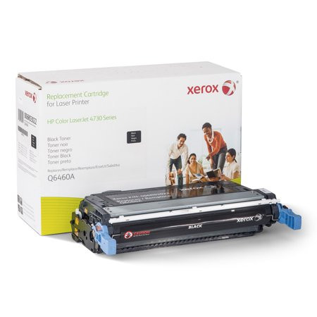 Q6460a Replacement - Xerox 006R03022 Replacement Toner for Q6460A (644A), Black