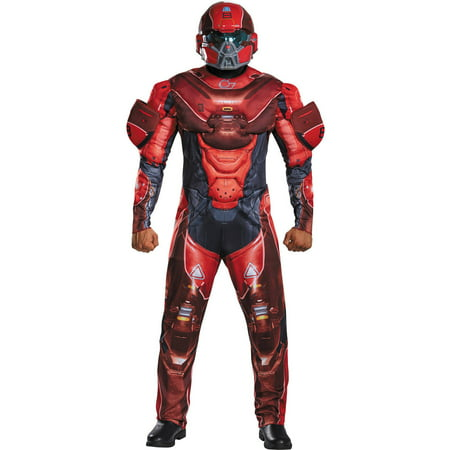 Red Spartan Muscle Men's Adult Halloween Costume