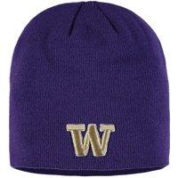 Washington Huskies Zephyr Edge Uncuffed Knit Hat - Purple - OSFA