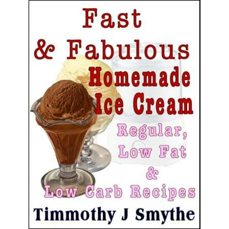 Fast & Fabulous Homemade Ice Cream Recipes - (Homemade Almond Milk Ice Cream In A Bag)