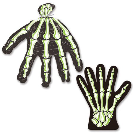 The Holiday Aisle Halloween Skeleton Hand Treat Bag (Skeleton Halloween Treats)