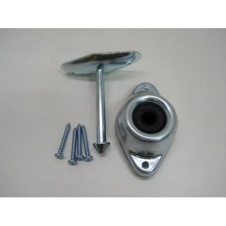 - RV Camper Trailer Door Stop Holder Latch / Metal Plunger Kit / 3