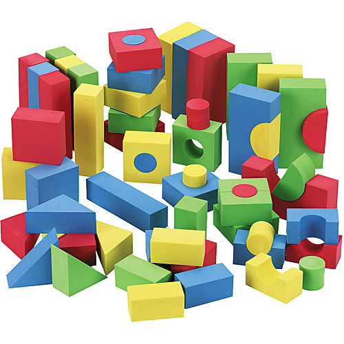 Chenille Kraft WonderFoam Blocks, 68pk