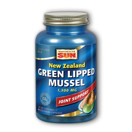 Green Lipped Mussel Health From The Sun 90 VCaps (Best Green Lipped Mussel Supplement)
