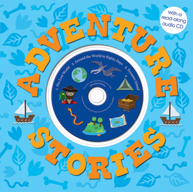 Adventure Stories for Boys : With Read-Along CD
