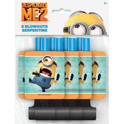 Despicable Me 2 Minions Blowouts / Favors (8ct)