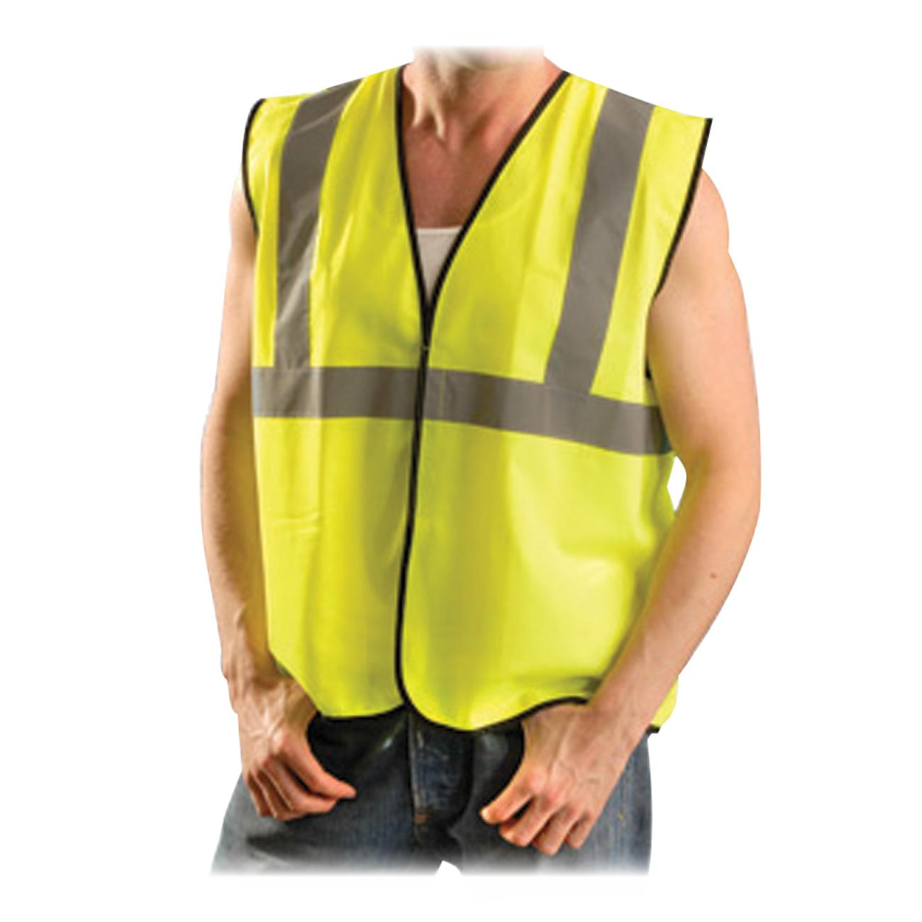 OccuNomix, OCCECOGYLXL, Class II Safety Vest, 1 Each, Yellow