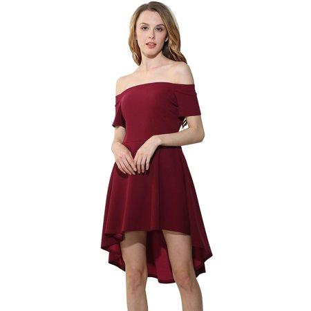 Coxeer Off Shoulder Dresscoxeer Formal Dresses Irregular Dresses