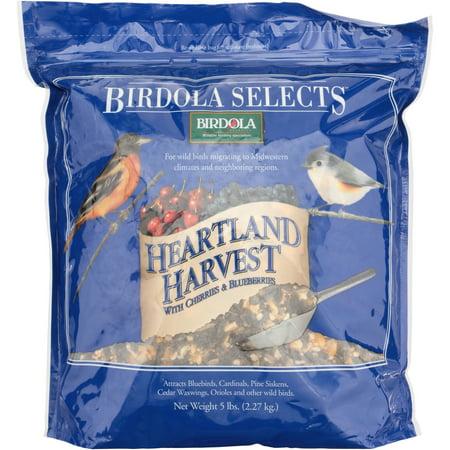 Birdola Selects Heartland Harvest Mix Pouch, 5-Pounds