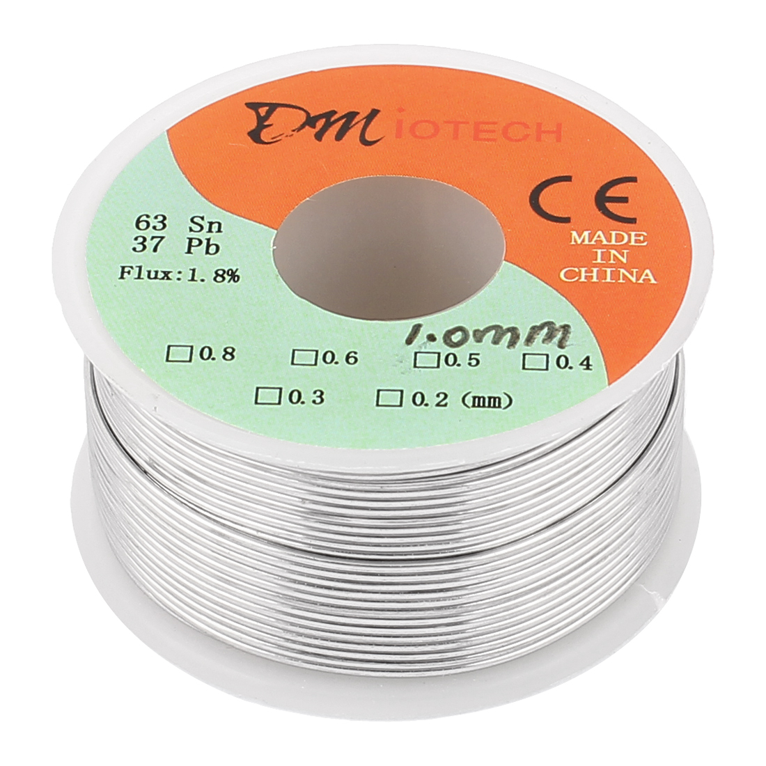 1mm 150G 63/37 Rosin Core Flux 1.8% Tin Lead Roll Soldering Solder Wire