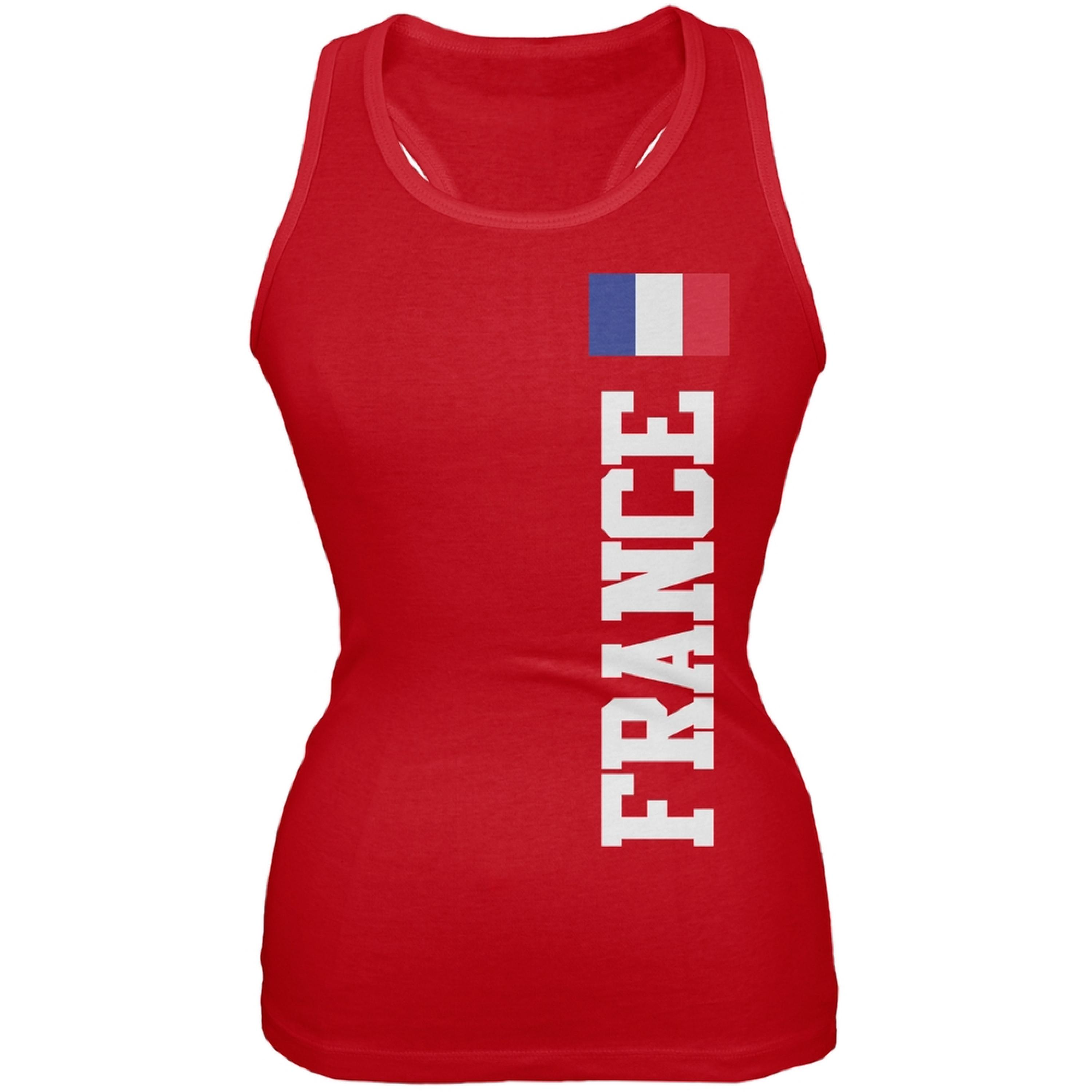 World Cup France Red Juniors Tank Top