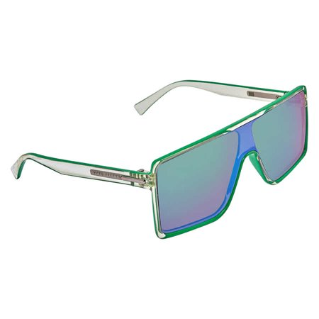 MARC JACOBS Mirror Green Shield Unisex Sunglasses MARC 220/S 0OX99T5