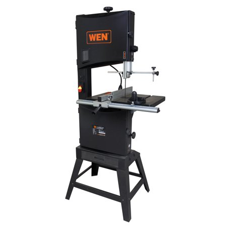 WEN 14-Inch Two-Speed Band Saw with Stand and