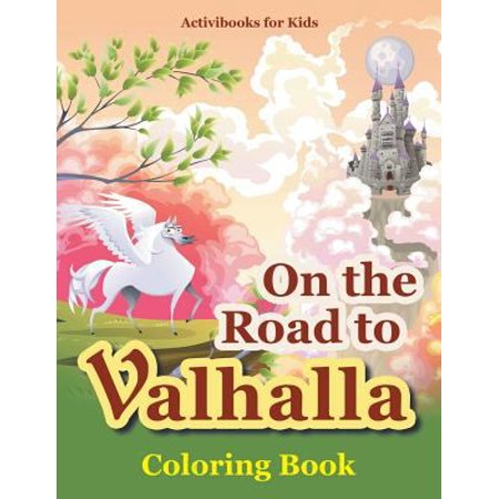 On The Road To Valhalla Coloring Book