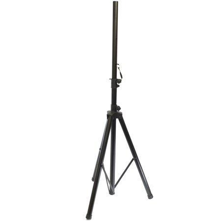 Y-DJ PA Speaker Stand Heavy Duty Steel Telescoping to 6 Feet 35mm Pole Diameter