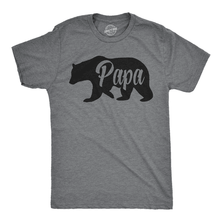 Mens Papa Bear Funny Shirts for Dads Gift Idea Novelty Tees Family T (Bong Bear Don T Care T Shirt)