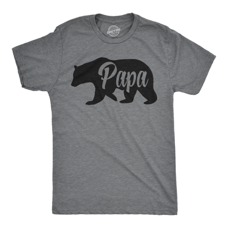 Mens Papa Bear Funny Shirts for Dads Gift Idea Novelty Tees Family T shirt](Halloween T Shirts Ideas)