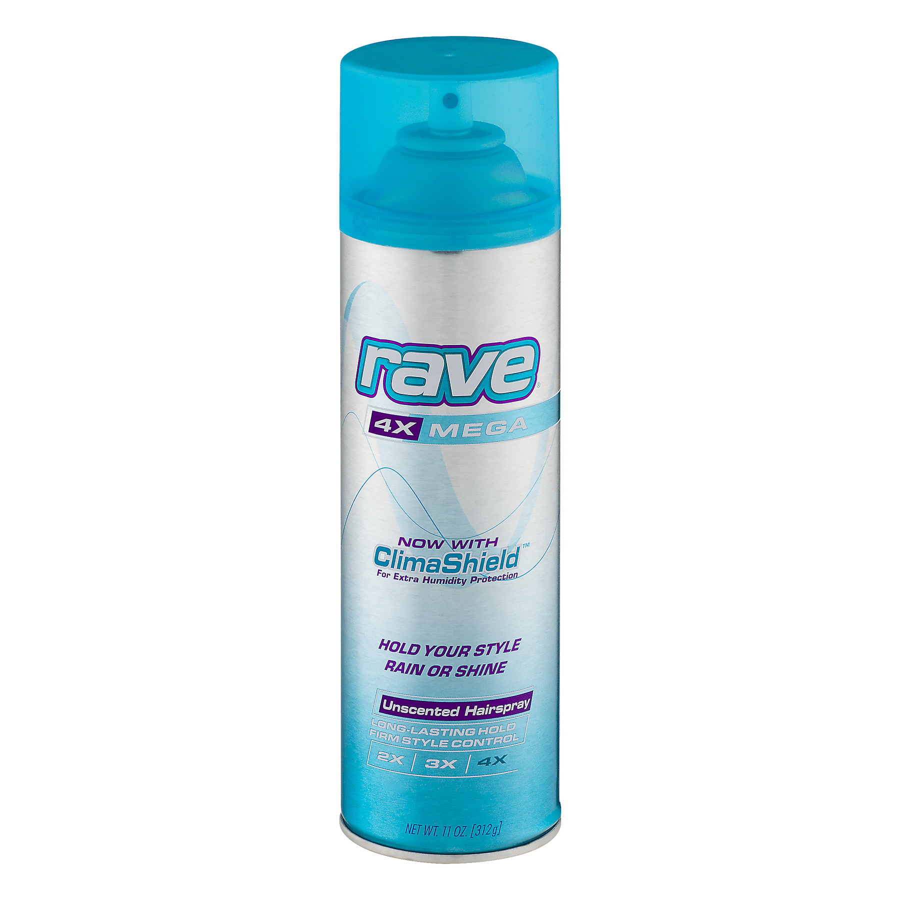 Rave® Unscented Hairspray 11 oz. Aerosol Can