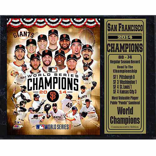 MLB 12x15 Stat Plaque, San Francisco Giants Champions