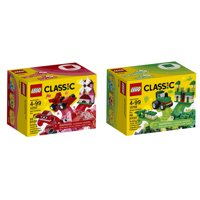 Deals on 2 LEGO Classic Creativity Boxes Blue and Orange