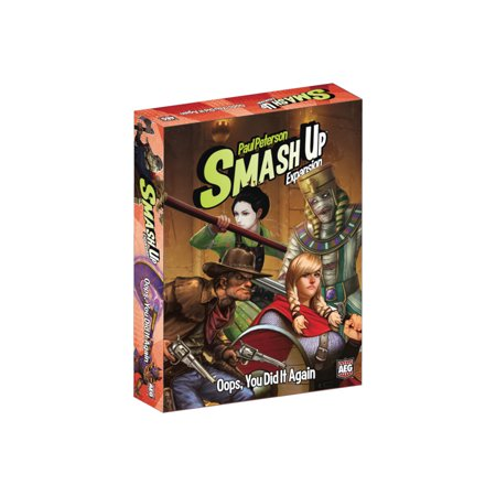 Alderac Entertainment Group (AEG) Smash Up: Oops You Did it Again Expansion Card Game - Group Halloween Games