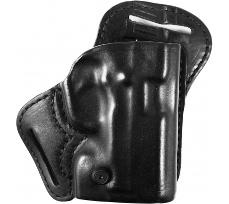 Blackhawk Leather Check-Six Holster, Right Hand, Black - Kahr CW9/CW40/P9/P40/K9