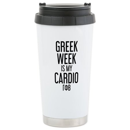 - CafePress - Gamma Phi Beta Gr - Stainless Steel Travel Mug, Insulated 16 oz. Coffee Tumbler