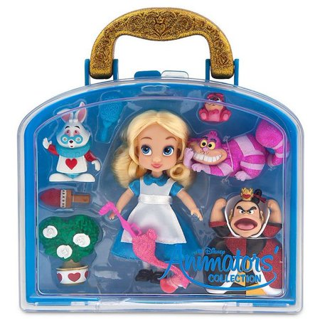 Disney Animators Collection Alice In Wonderland Mini Doll Play