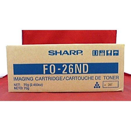 - FO-26ND Genuine New Sharp Black Toner FO-2600 FO-2700M
