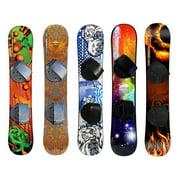 ESP 110 cm Freeride 110 Kid's Snowboard - Step in Adjustable Bindings - Assorted Graphics