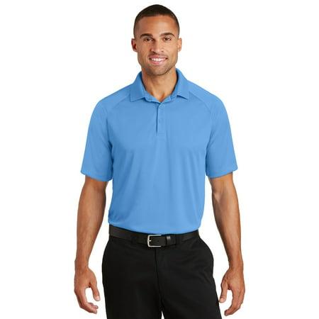 - Port Authority K575 Crossover Raglan Polo, Azure Blue, XS