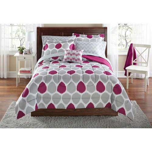 Cool My Room Zebra Complete Bed in a Bag Bedding Set Black White Walmart