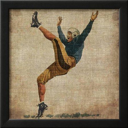 Vintage Sports V Framed Print Wall Art By John Butler - Walmart.com