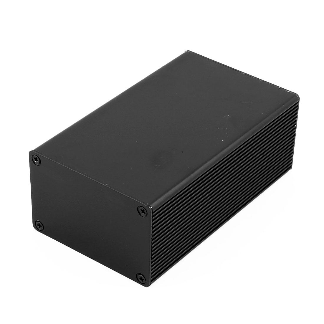 Unique Bargains 112 x 66 x 43mm Multi-purpose Electronic Extruded Aluminum Enclosure Case Black - image 4 of 4