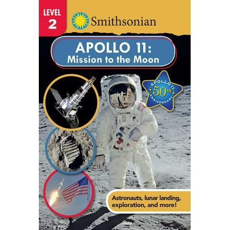 Smithsonian Reader: Apollo 11: Mission to the Moon Level - Halloween Quiz Level 11
