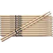 Promark 12-Pair American Hickory Drumsticks Nylon 5A