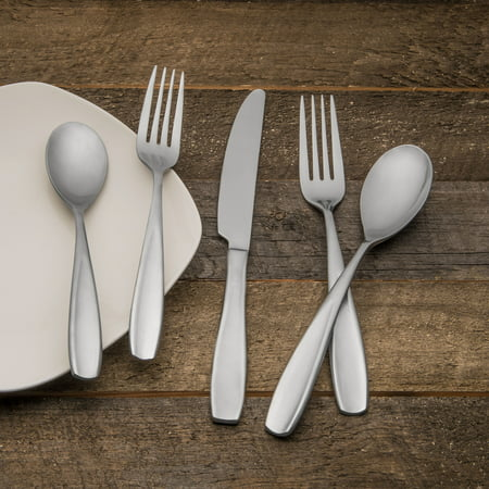 Cambridge Inez Satin Flatware Set, 20 (Cambridge Circle)