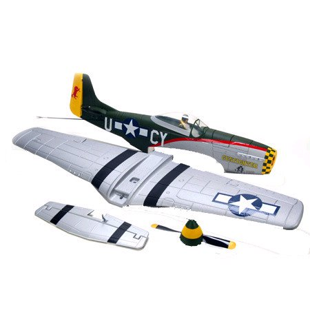 ParkZone Replacement Airframe: P-51 Mustang BL, PKZ1870