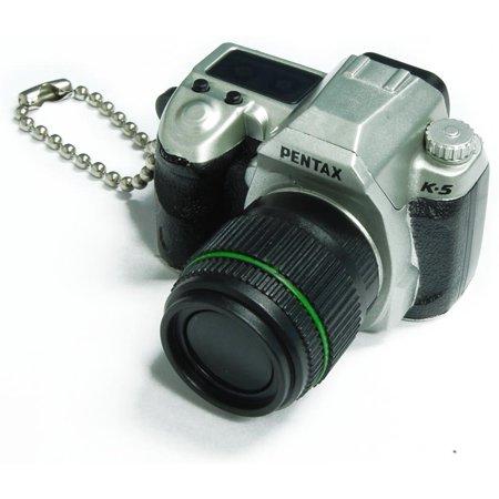 Pentax Capsule Mini Camera Keychain K-5 Limited Silver Camera